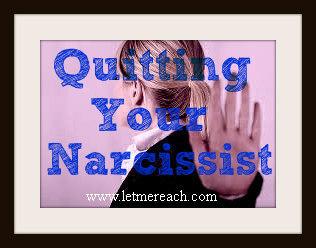 leave a narcissist