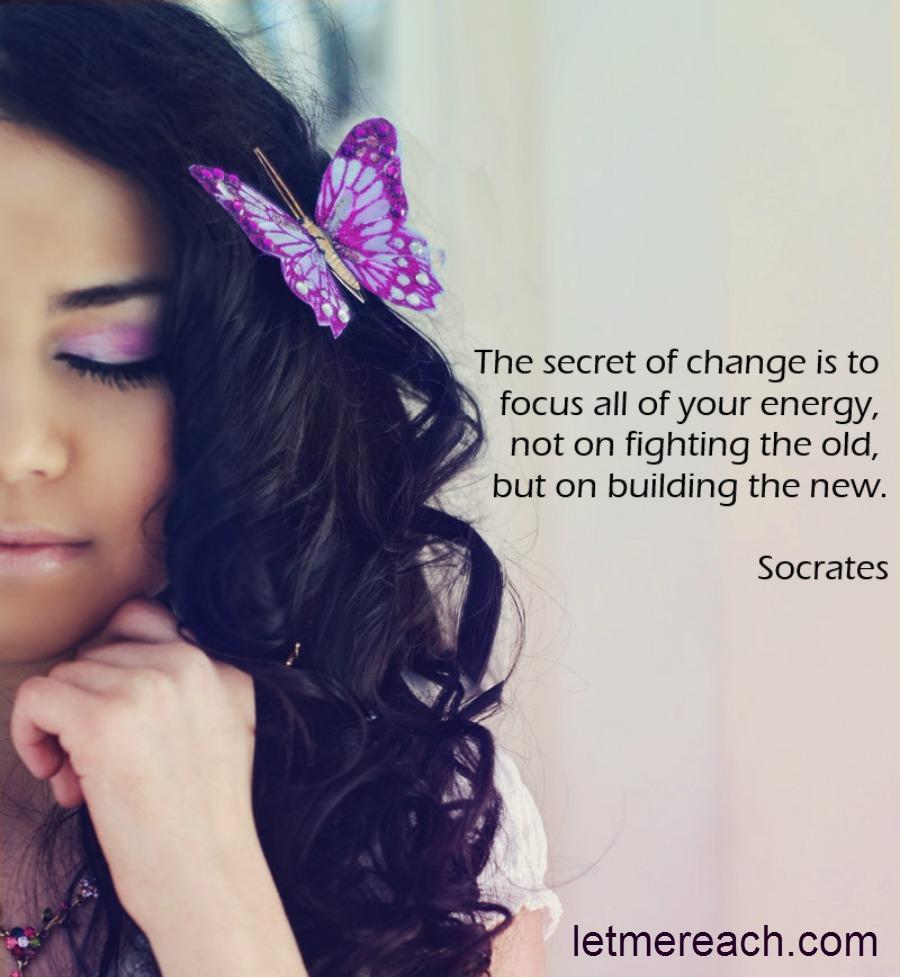 The Secret of Change…