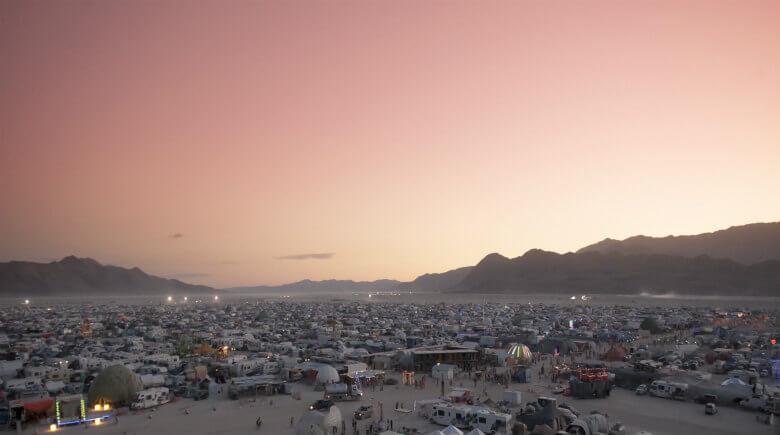 The Narcissist's Secret Playground – Burning Man