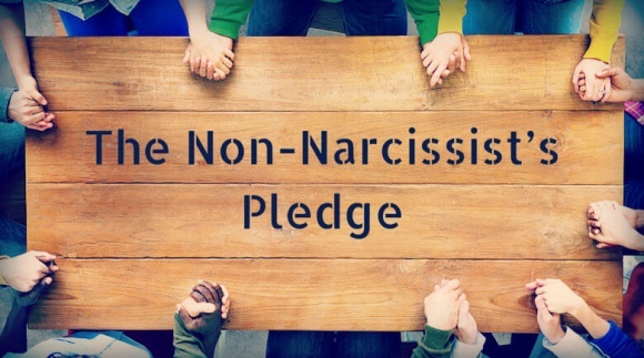The Non-Narcissist's Pledge